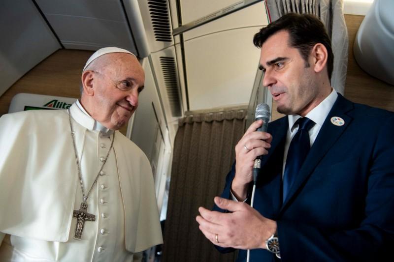 Alessandro Gisotti Rome-Panama© Vatican Media