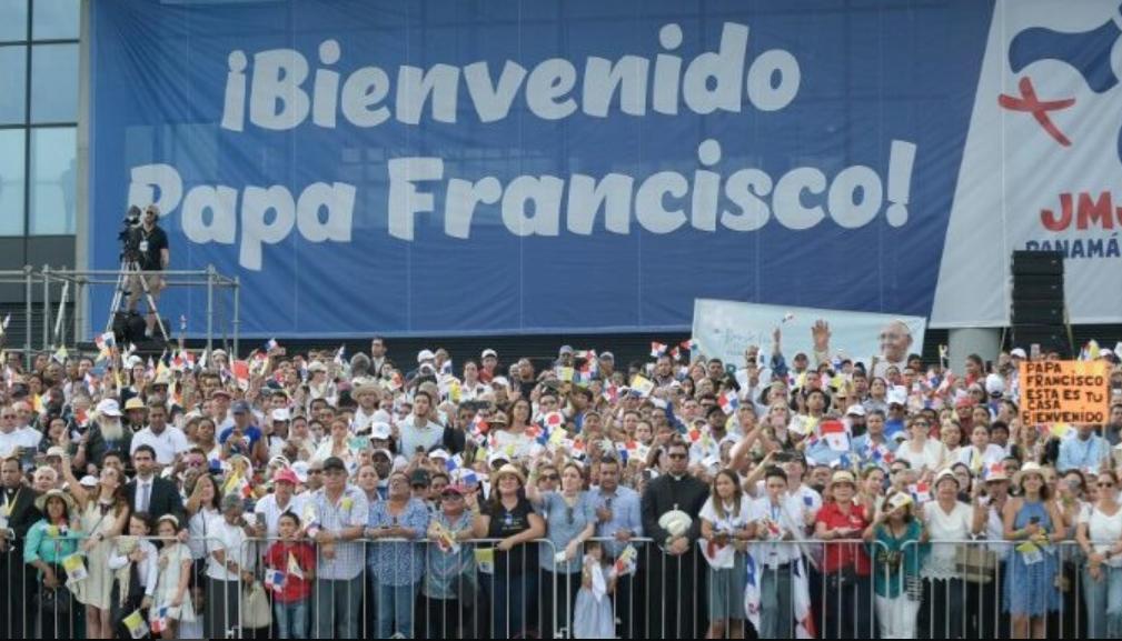 Arrivée au Panama © Vatican News