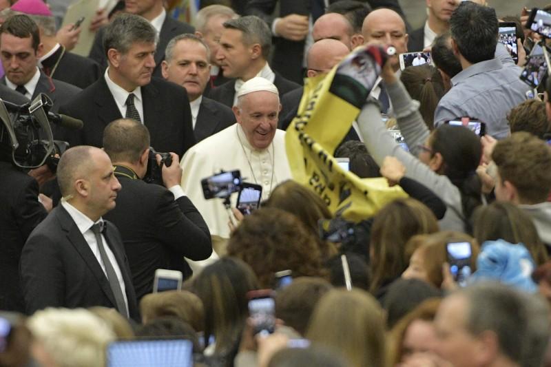 Audience générale du 30 janvier 2019 © Vatican News