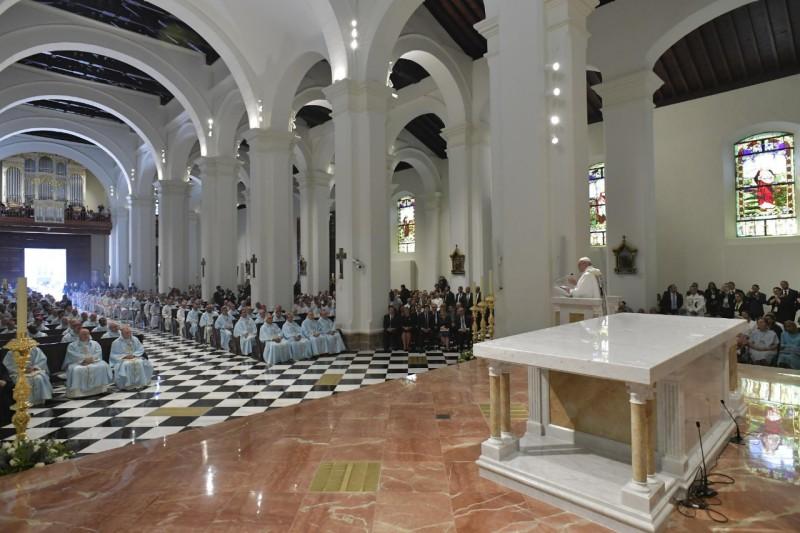 Basilique Santa Maria La Antigua, Panama © Vatican Media