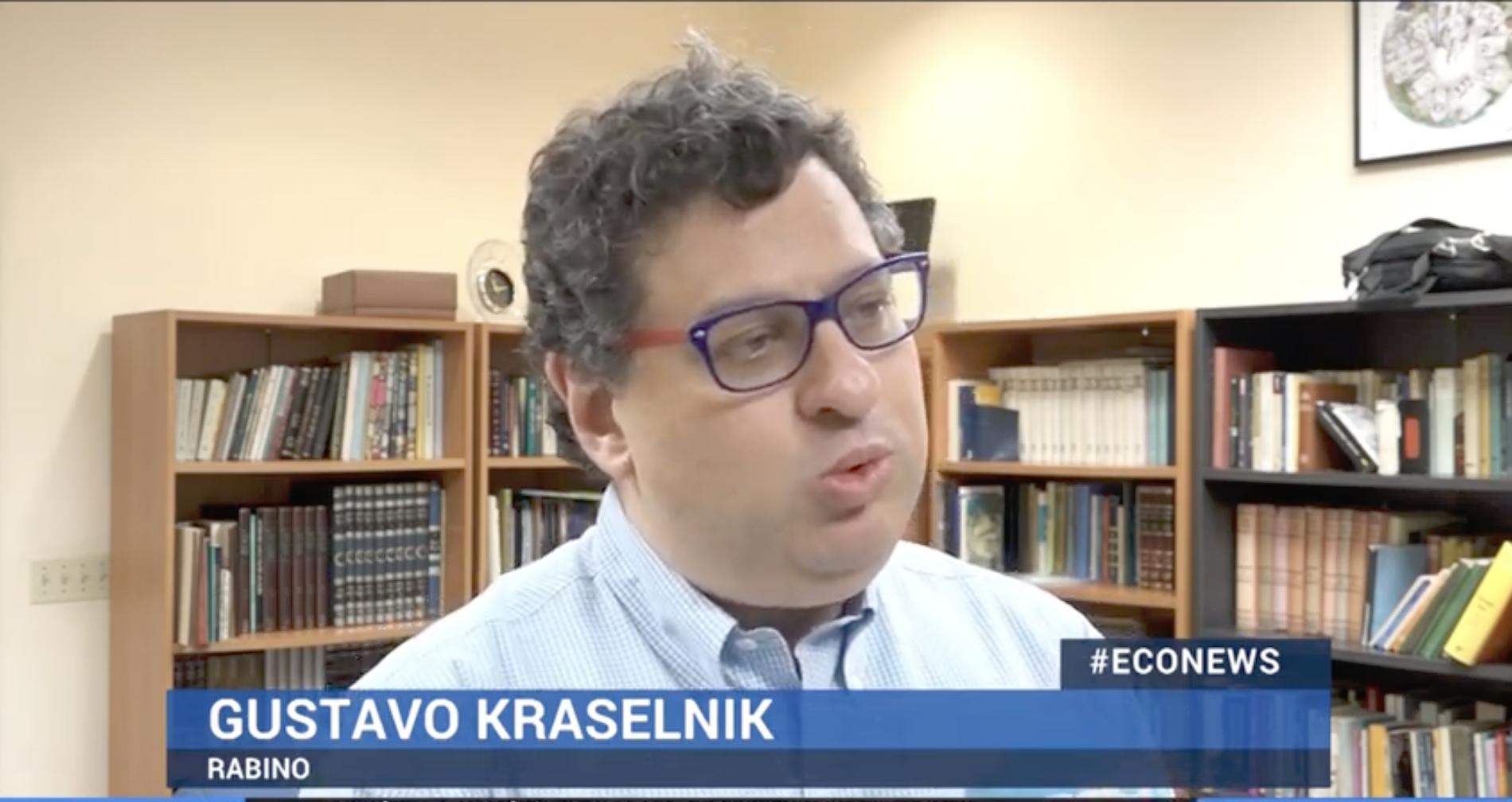 Rabbin Kraselnik @ Eco News / YouTube