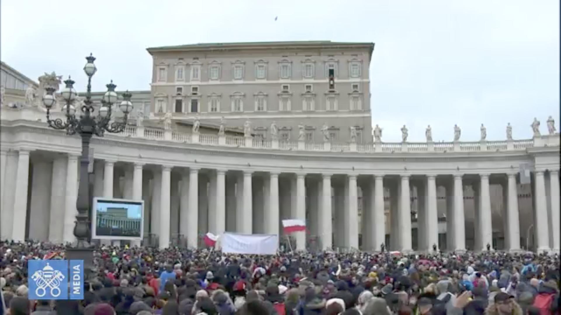 Angélus du 20 janvier 2019 @ Vatican Media