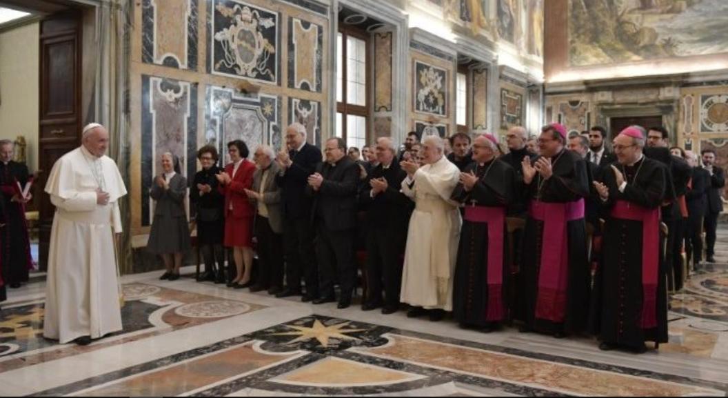 Historiens de l'Eglise, 12 janvier 2019 © Vatican Media