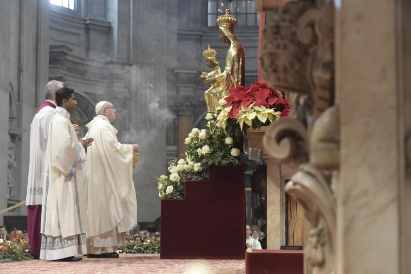 Messe du 1er janvier 2019 © Vatican Media