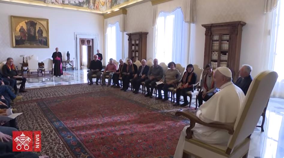 Pax Christi Italie, capture Vatican News
