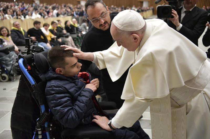 Audience générale du 16 janvier 2019 © Vatican Media
