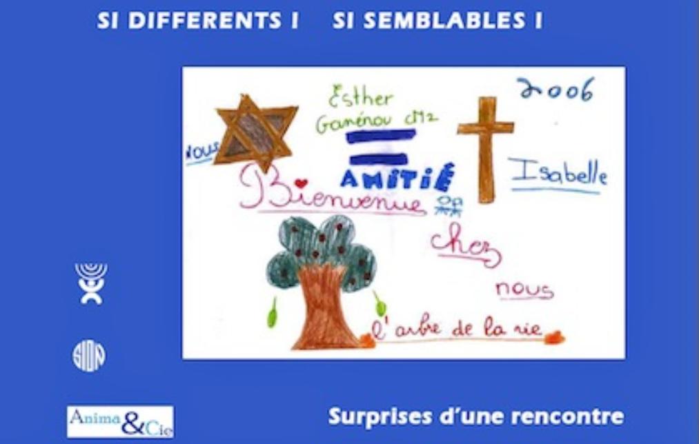 Recueil de témoignages d'enfants d'une école juive en dialogue avec Isabelle Denis Soeur de ND de Sion