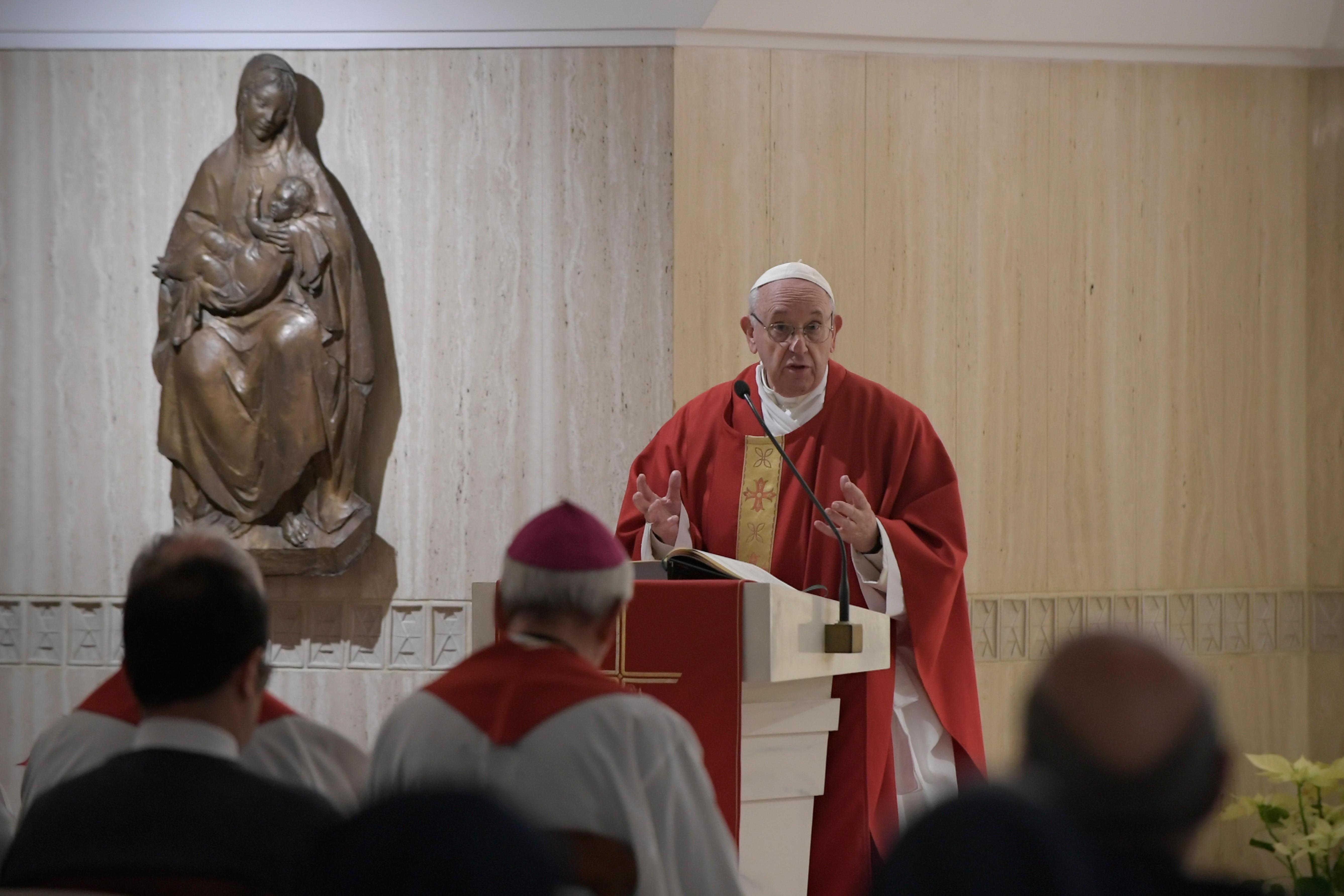 Sainte-Marthe 21 janvier 2019 © Vatican Media