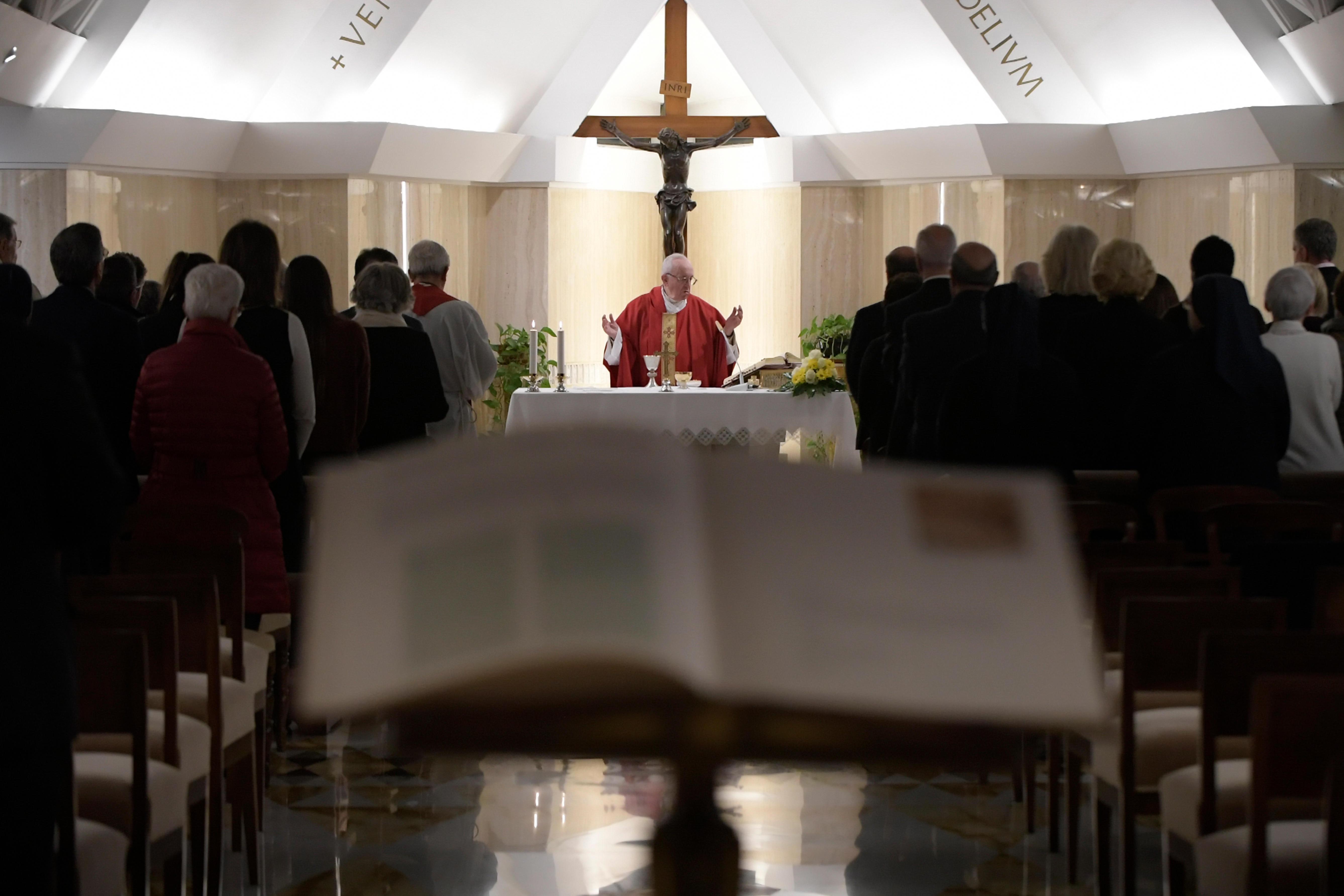 Sainte-Marthe 2019 © Vatican Media