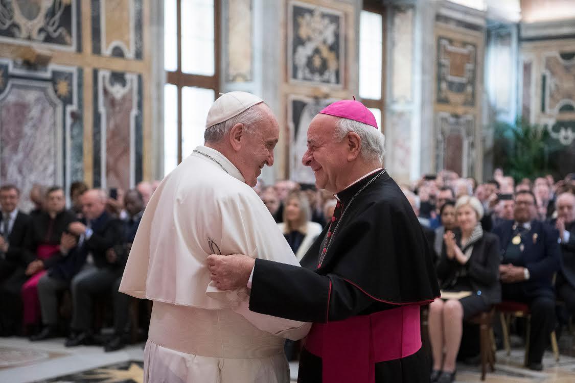Mgr Vincenzo paglia, Académie pour la vie 25/2/2019 © Vatican Media