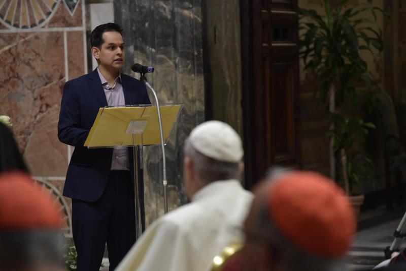 Témoignage, Célébration pénitentielle de la rencontre sur la protection des mineurs, 23 février 2019 © Vatican Media