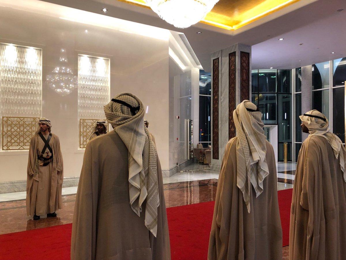 Arrivée à Abou Dhabi © Andrea Tornielli