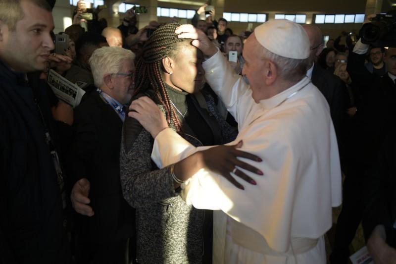 Fraterna Domus, rencontre de structures pour migrants © Vatican Media