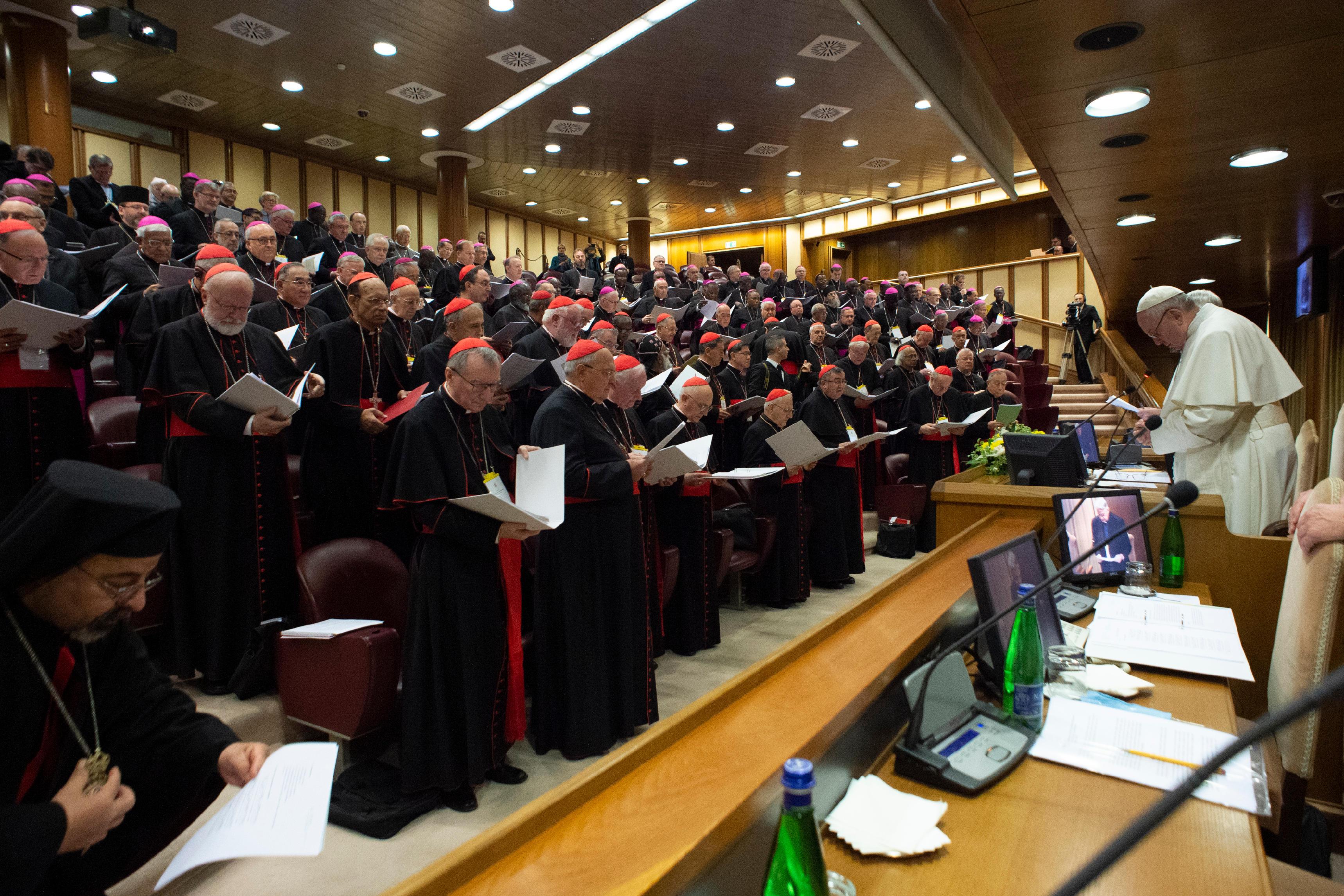 Rencontre sur la protection des mineurs, 23 février 2019 © Vatican Media