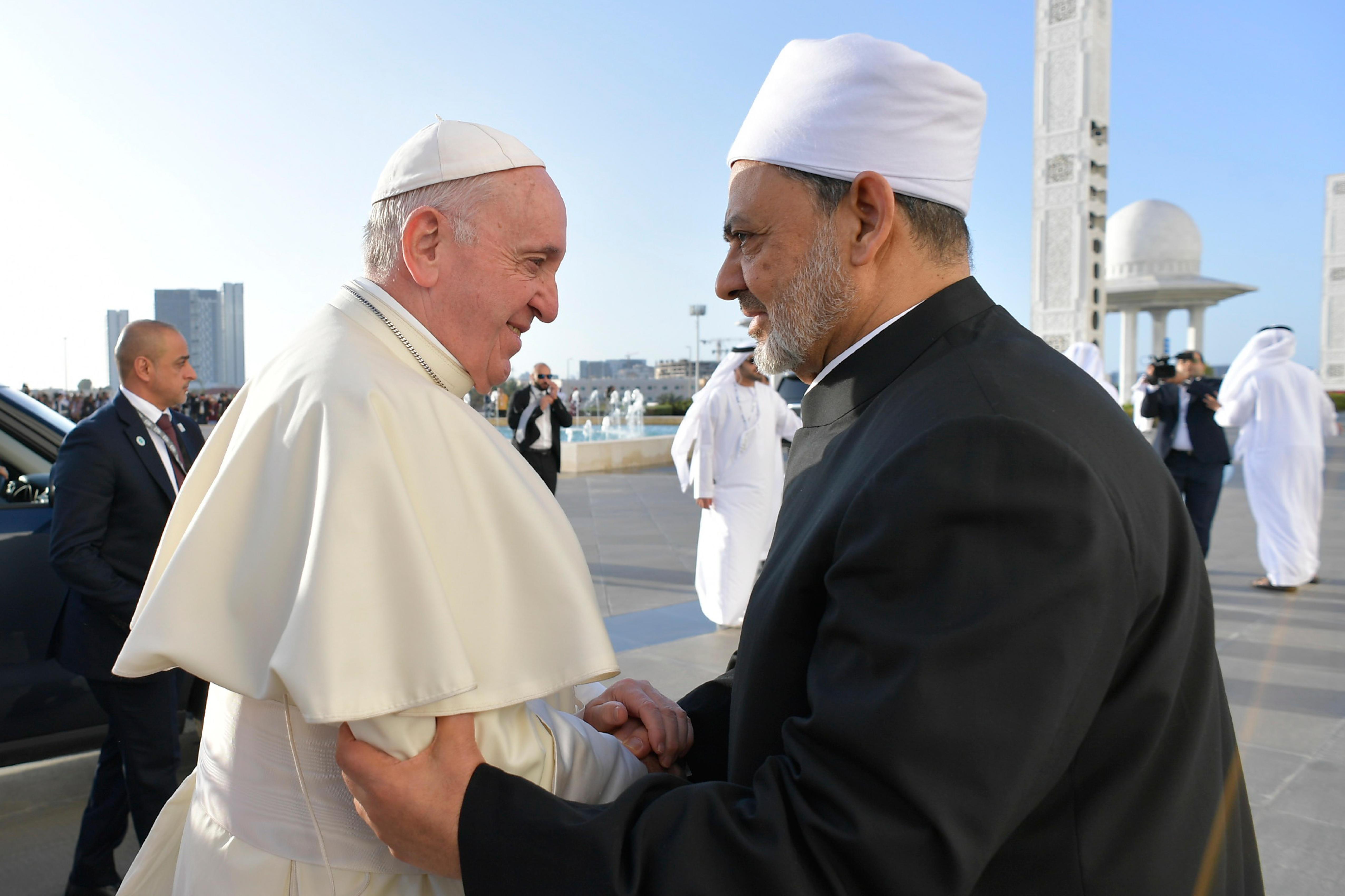 Muslim Council of Elders, Abou Dhabi © Vatican Media