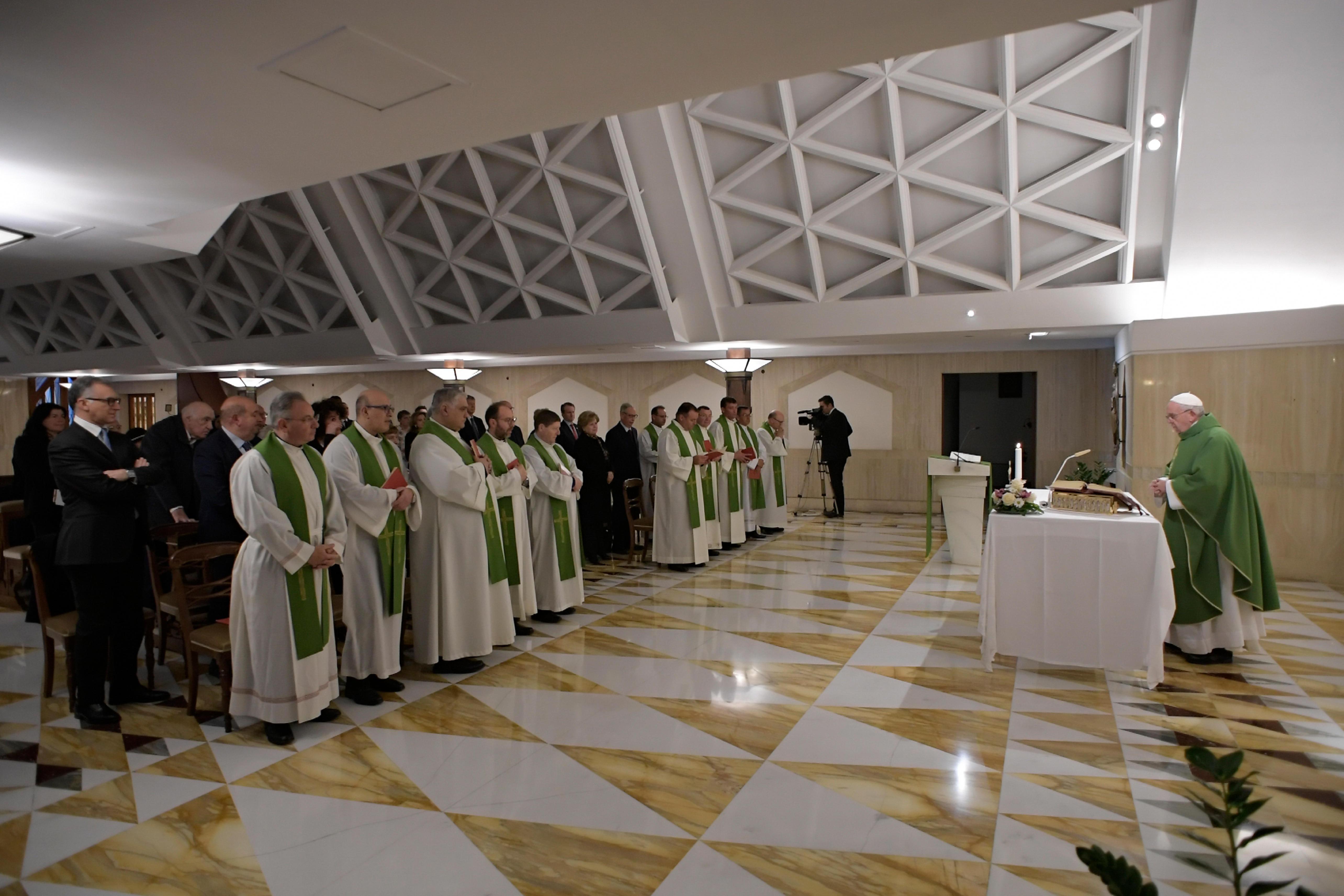Sainte-Marthe, 28 février 2019 © Vatican Media