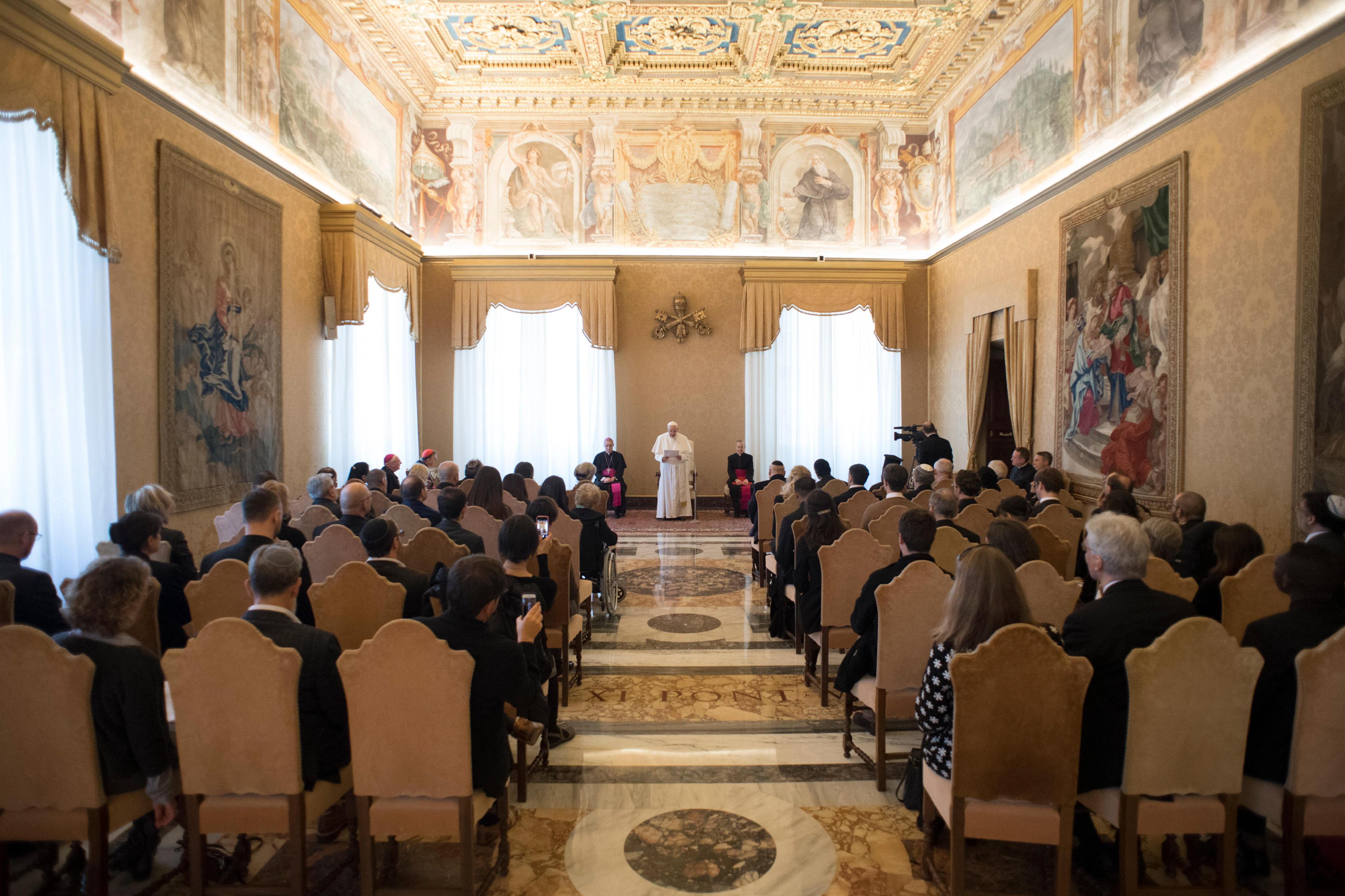 50e anniversaire de la mort du card. Bea © Vatican Media