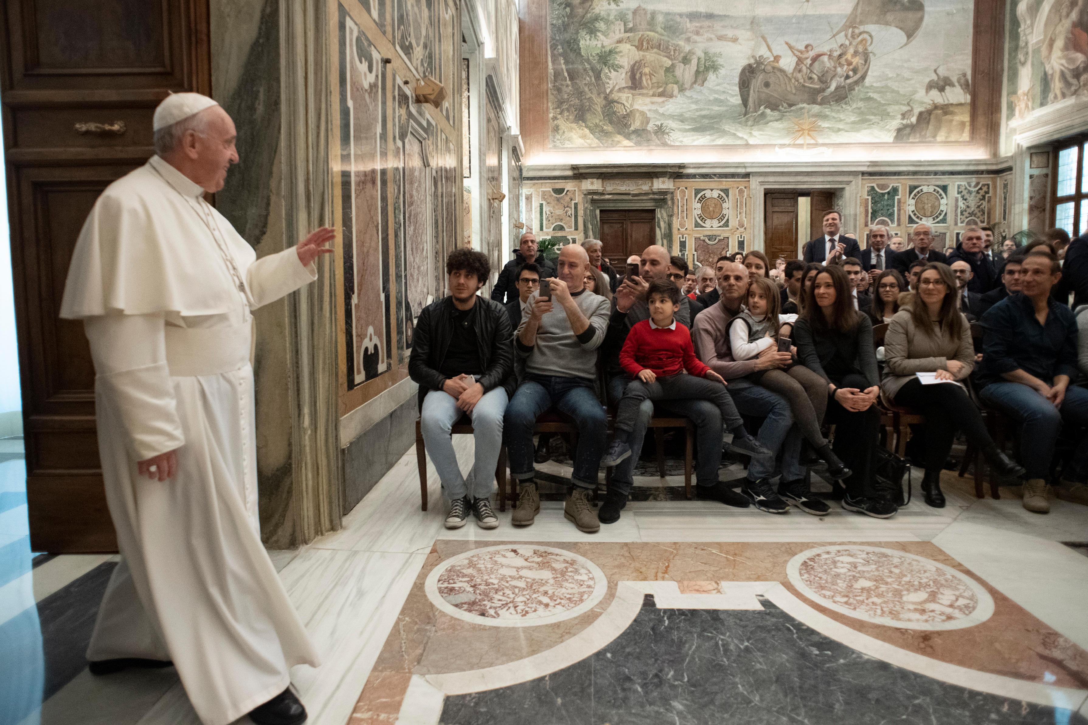 Cercle Saint Pierre © Vatican Media