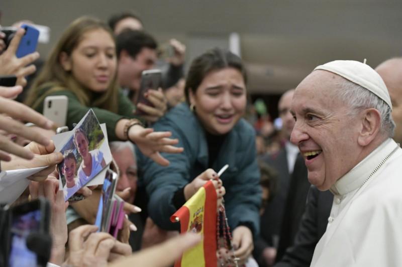 Audience générale du 13 février 2019 © Vatican Media