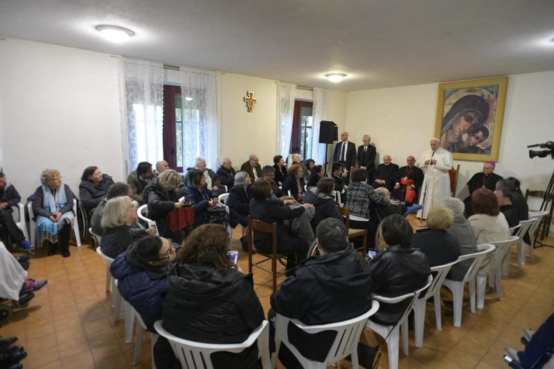 Paroisse San Crispino da Viterbo a Labaro © Vatican Media