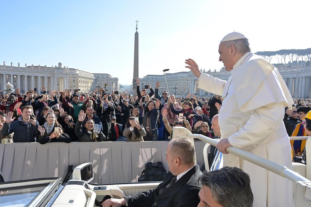 Audience du 6/3/2019 © Vatican Media