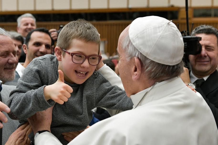 Association AIL © Vatican Media