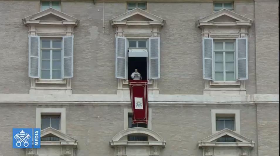 Angélus du 10 mars 2019, capture Vatican Media