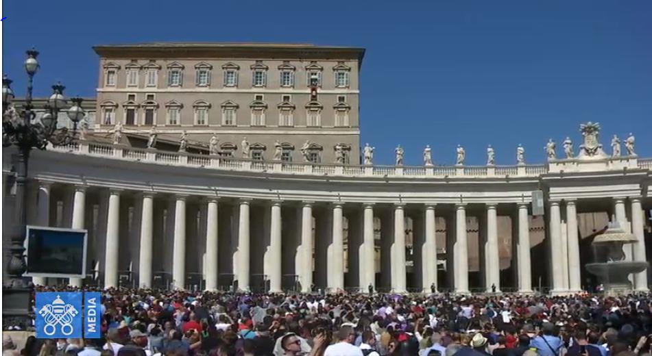 Angélus du 24 mars 2019, capture Vatican Media