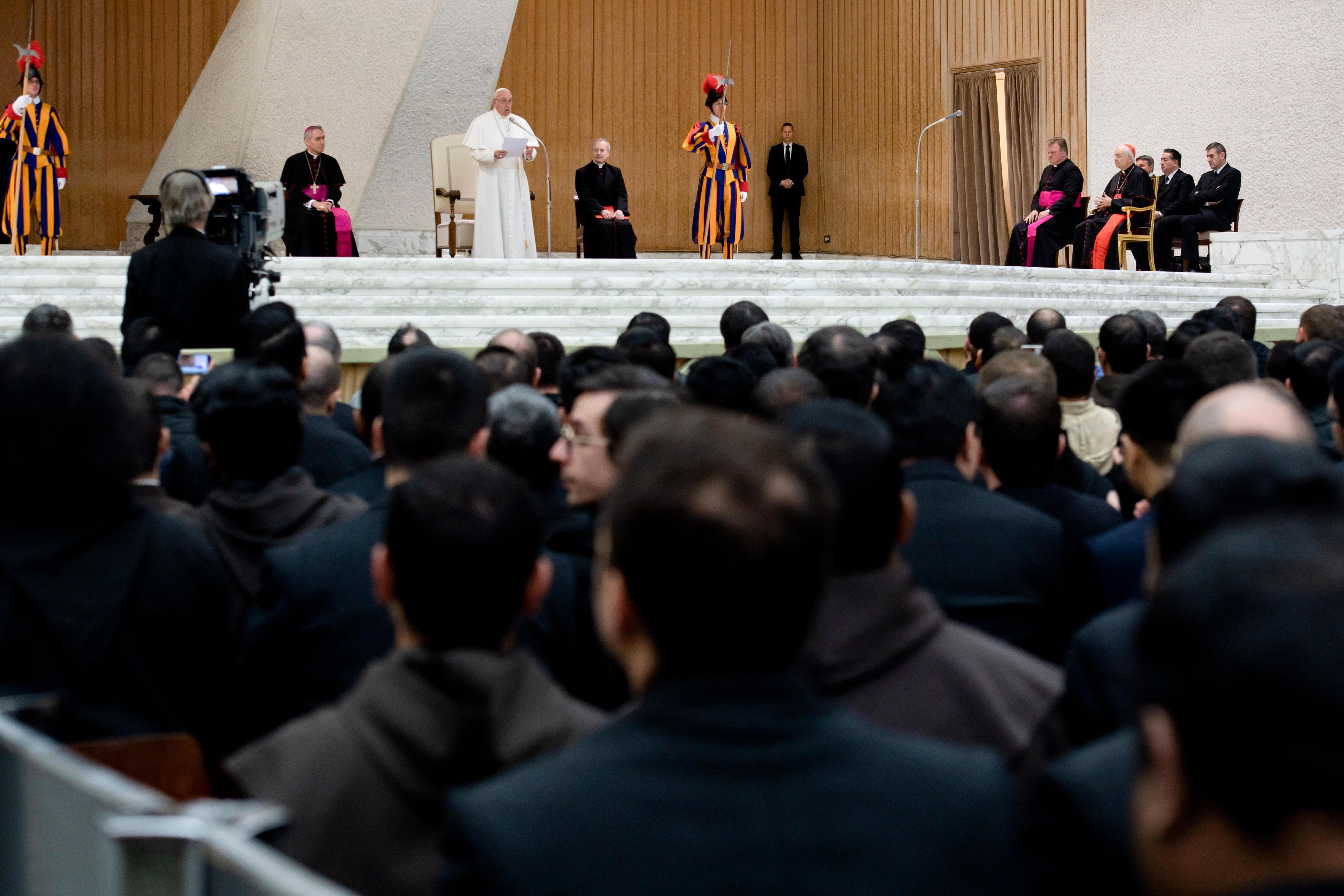 Cours sur le for interne © Vatican Media