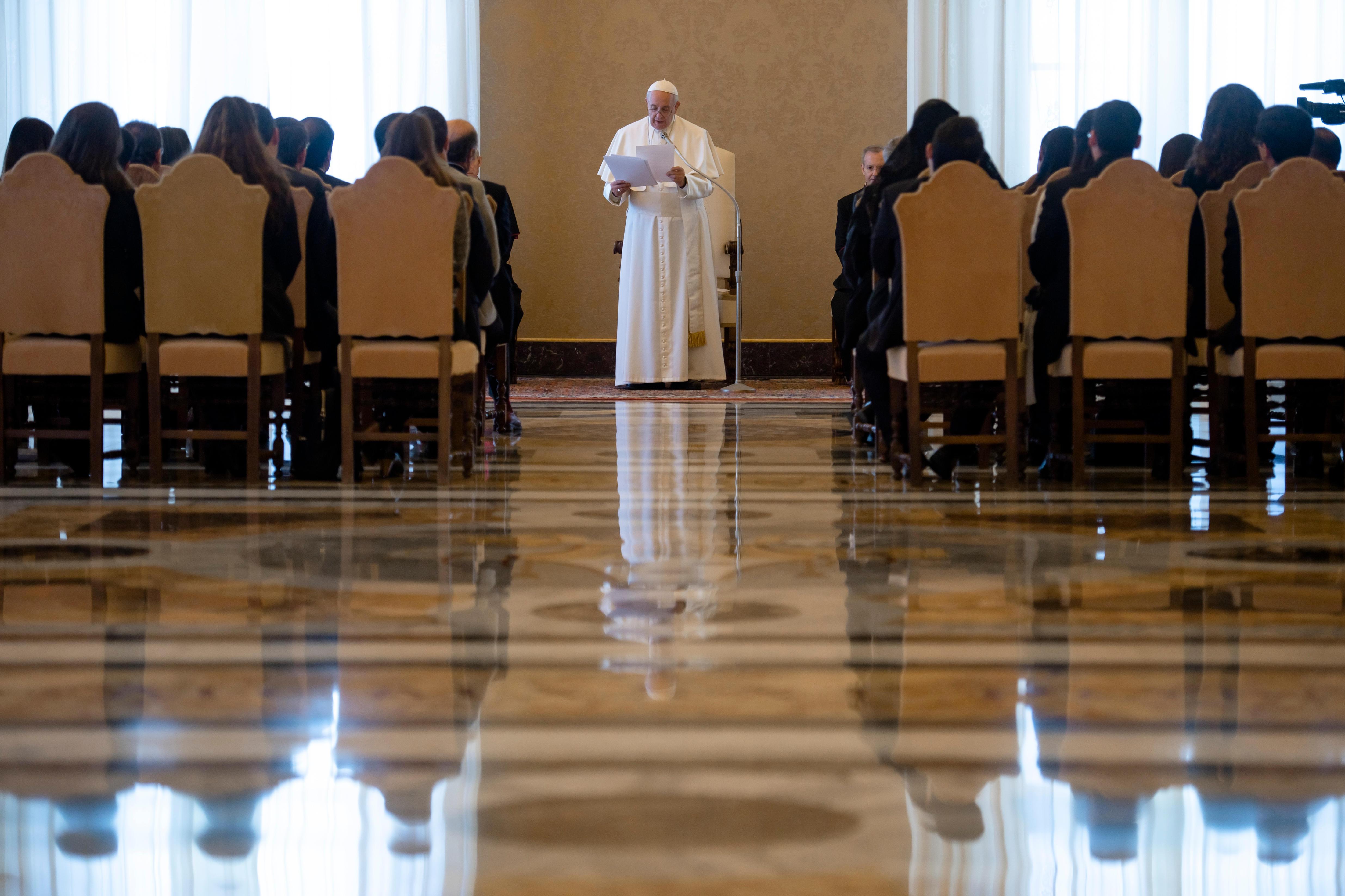 Jeunes d'Amérique latine © Vatican Media