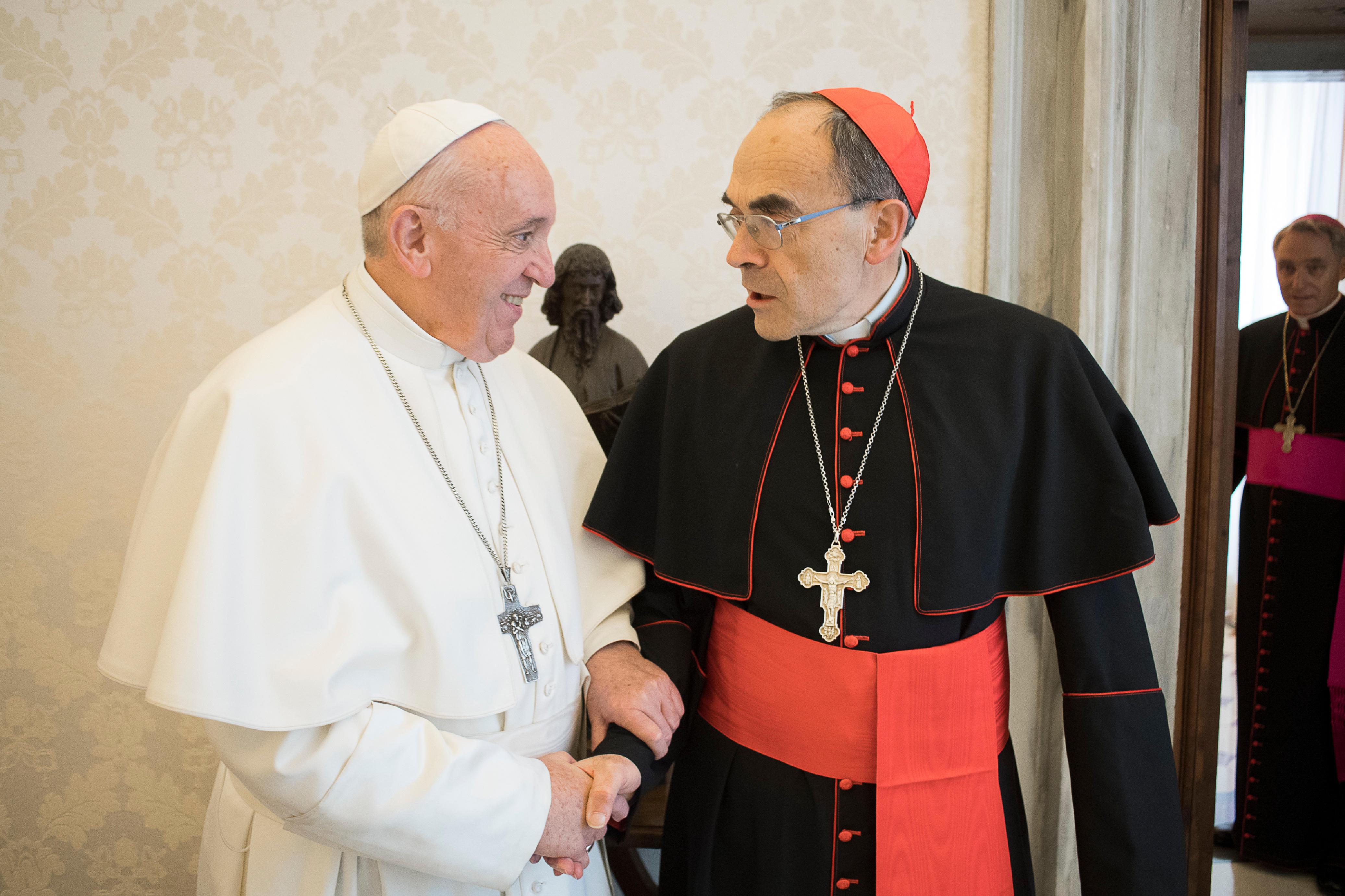 Cardinal Barbarin, 18 mars 2019 © Vatican Media