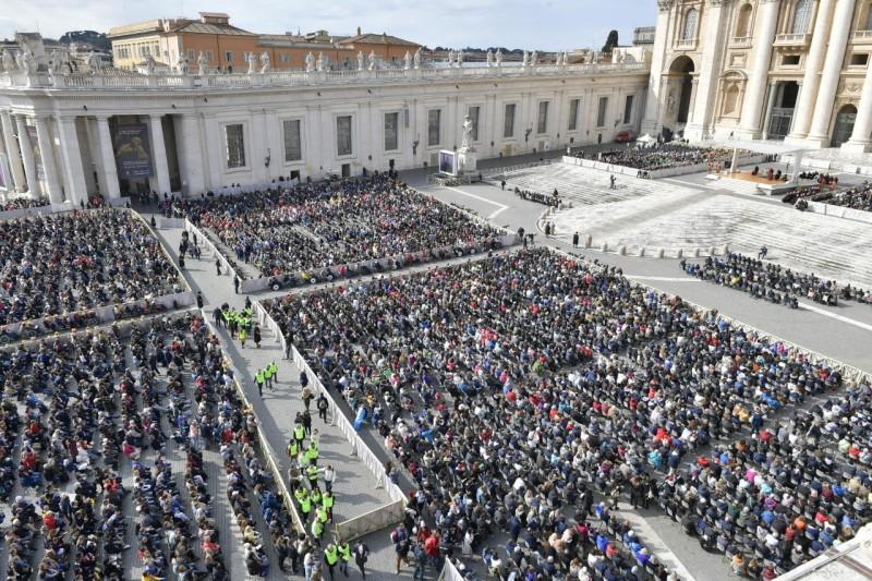 Audience générale du 20 mars 2019 © Vatican Media