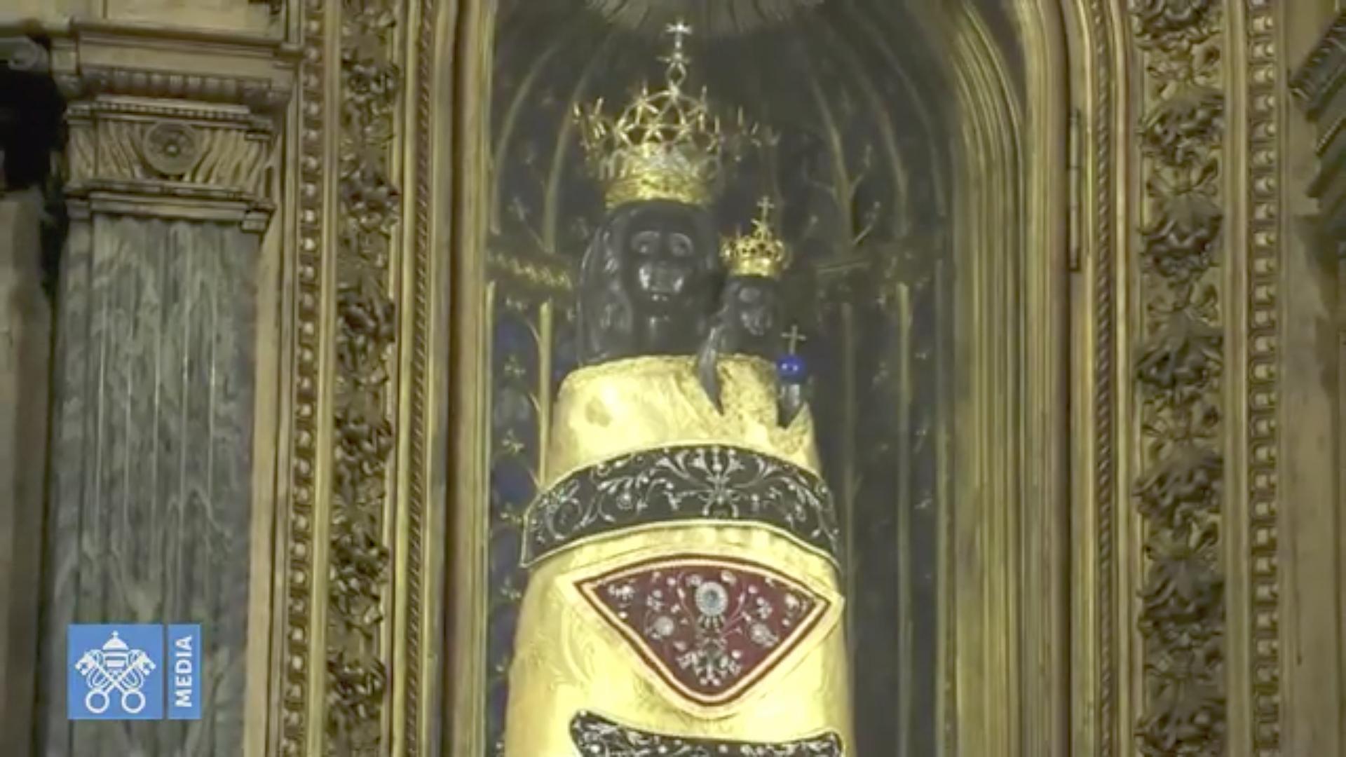 Vierge noire de Lorette @ Vatican Media