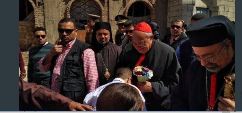 Le cardinal Sandri en Egypte © Vatican News