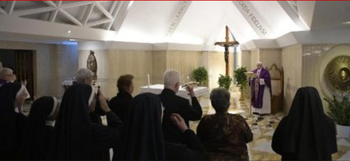 Messe du 18 mars 2019 à Ste Marthe © Vatican News