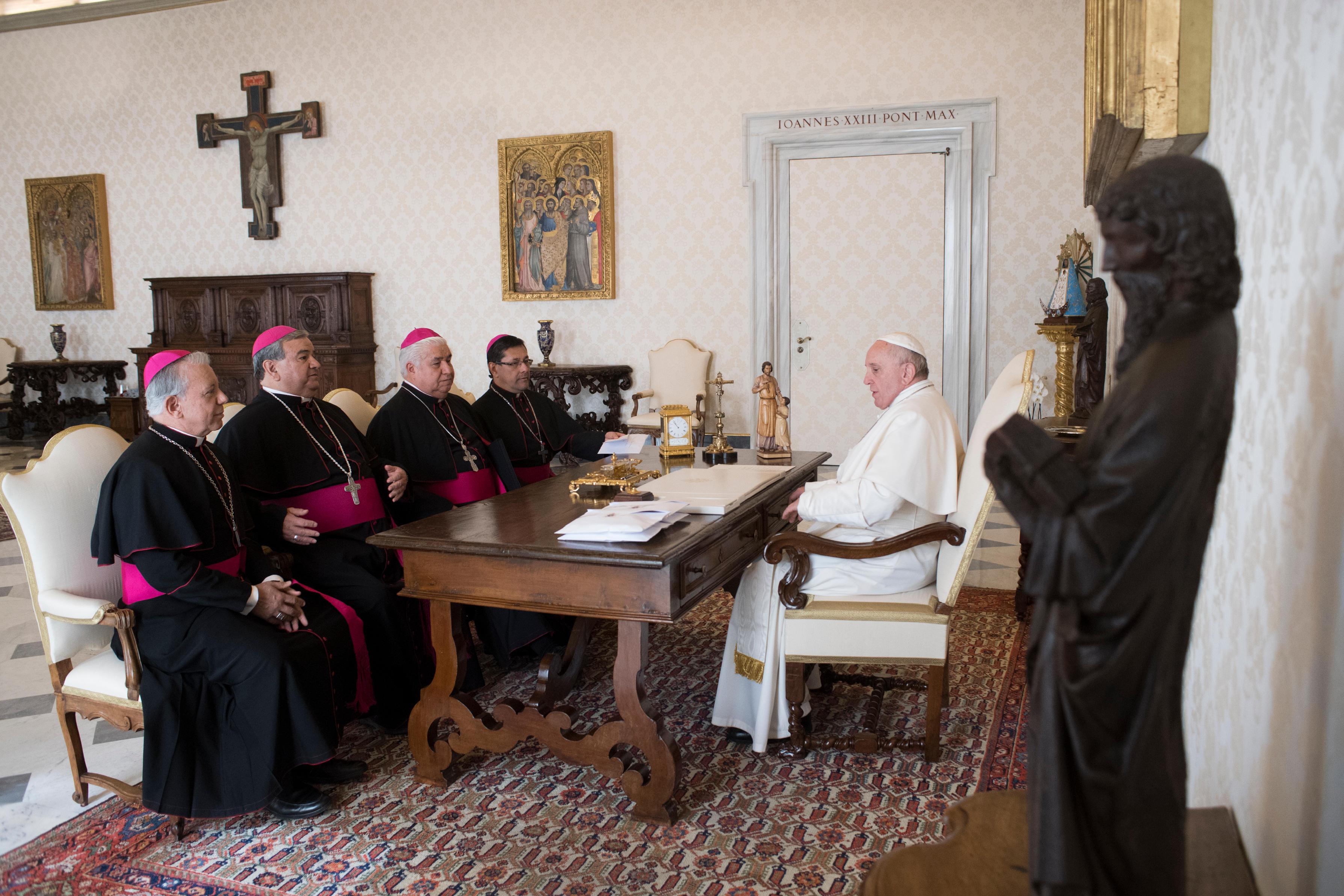 Présidence de la Conférence épiscopale du Mexique © Vatican Media