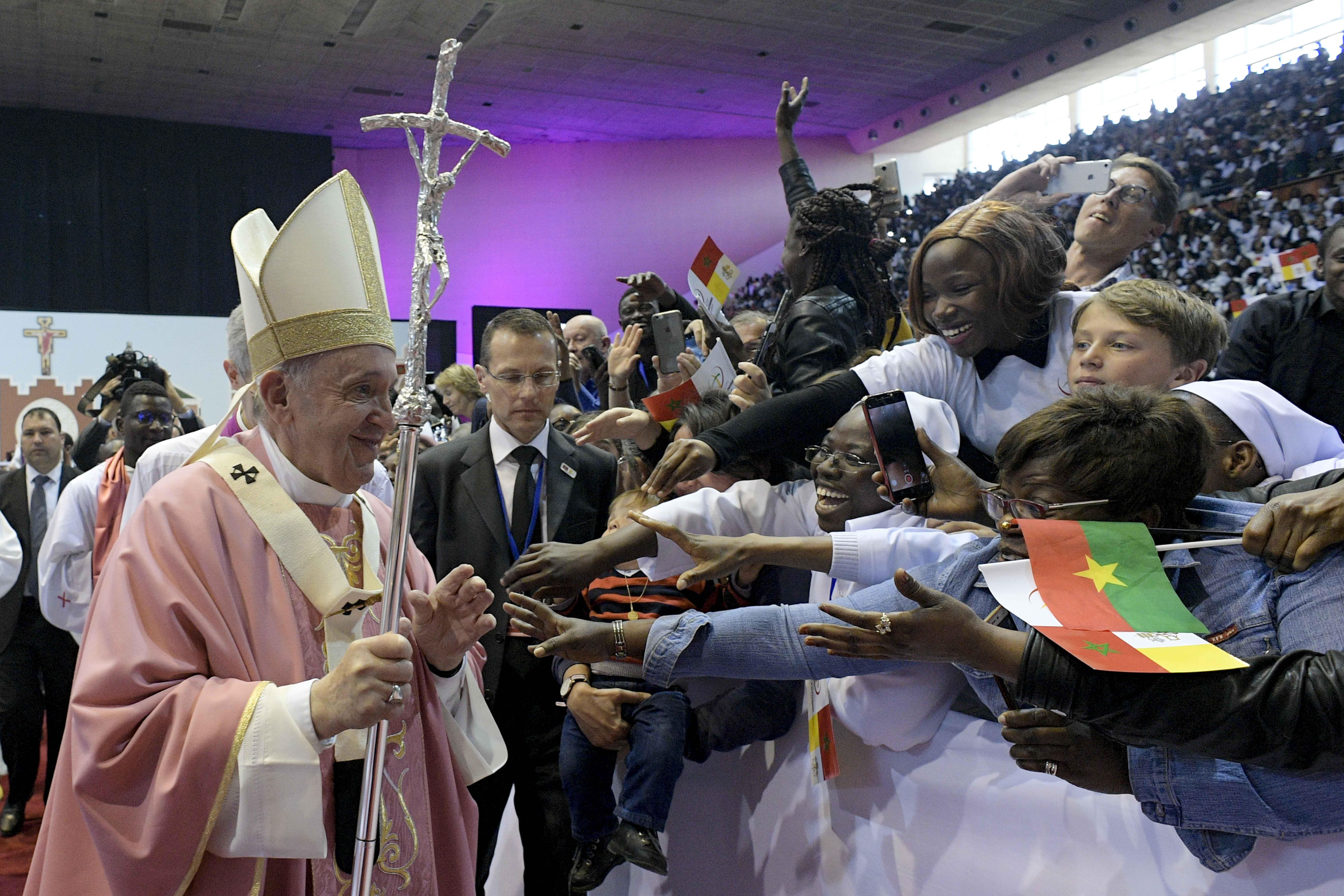 Messe à Rabat, Maroc © Vatican Media