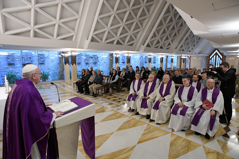 Sainte-Marthe, 28 mars 2019 © Vatican News