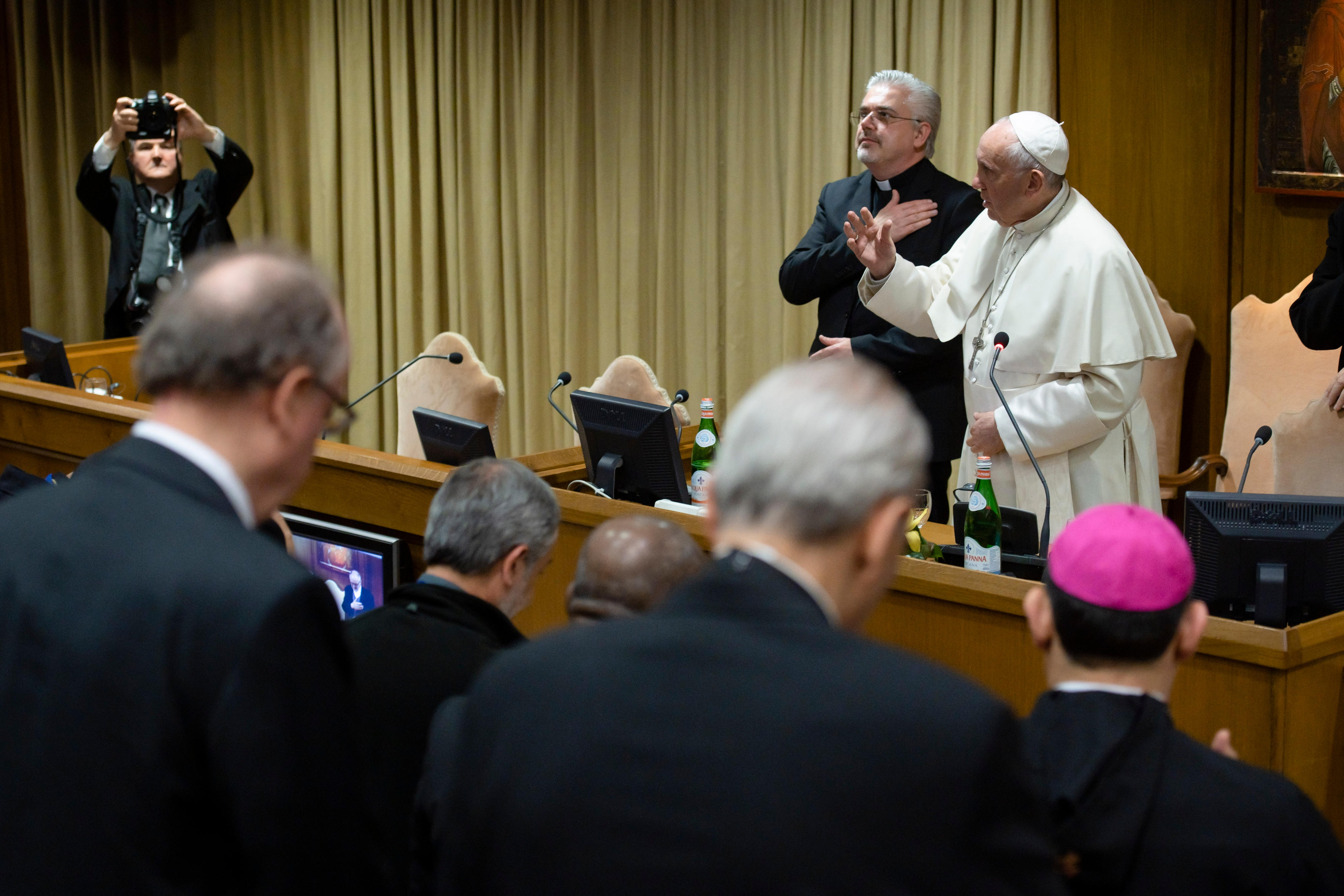 Conférence internationale sur la traite des personnes © Vatican Media