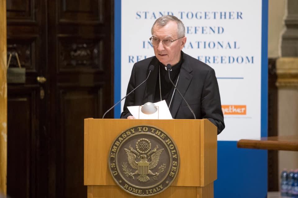 Card. Parolin @ US Embassy/Holy See