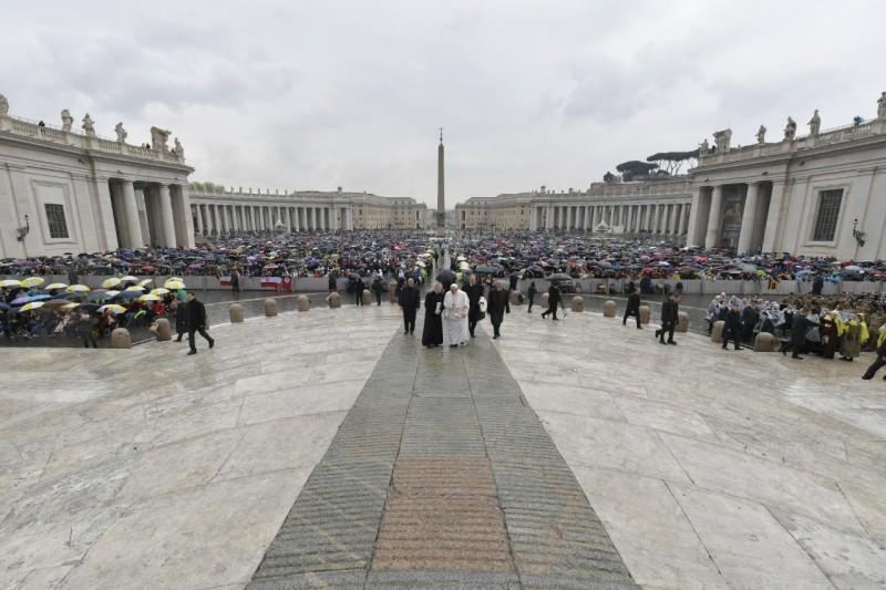Audience générale du 10 avril 2019 © Vatican Media
