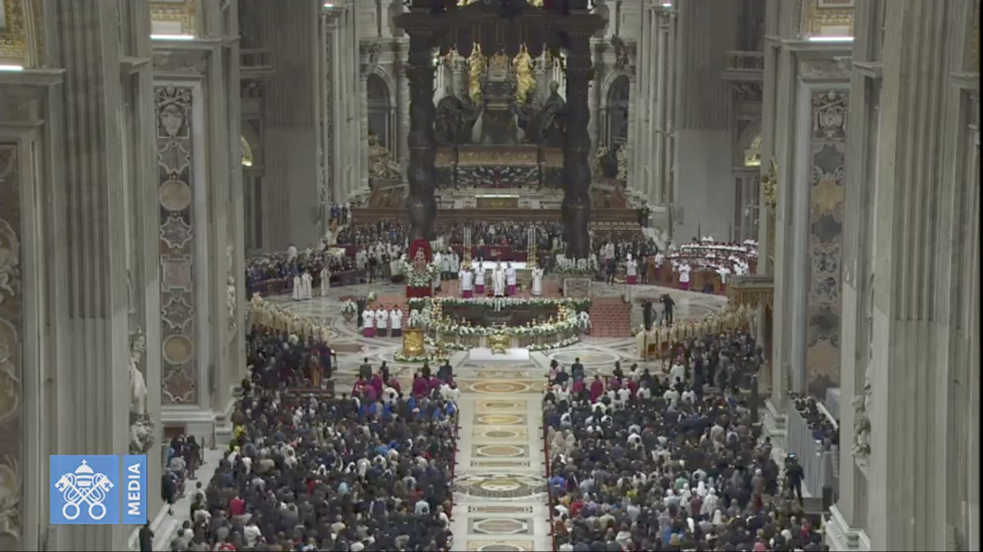 Veillée pascale 2019 @ Vatican Media