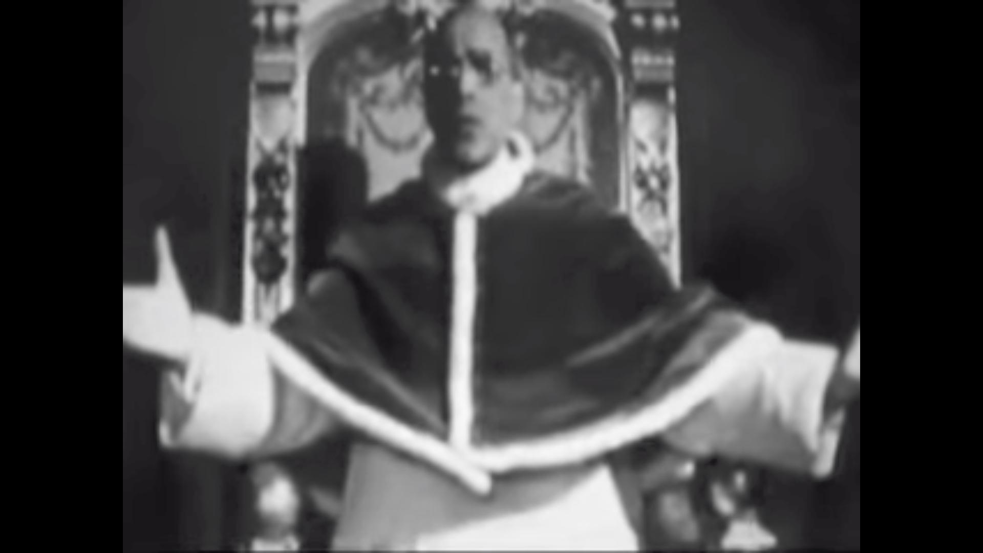 Pie XI, Pâques, 17 avril 1949 @ YouTube