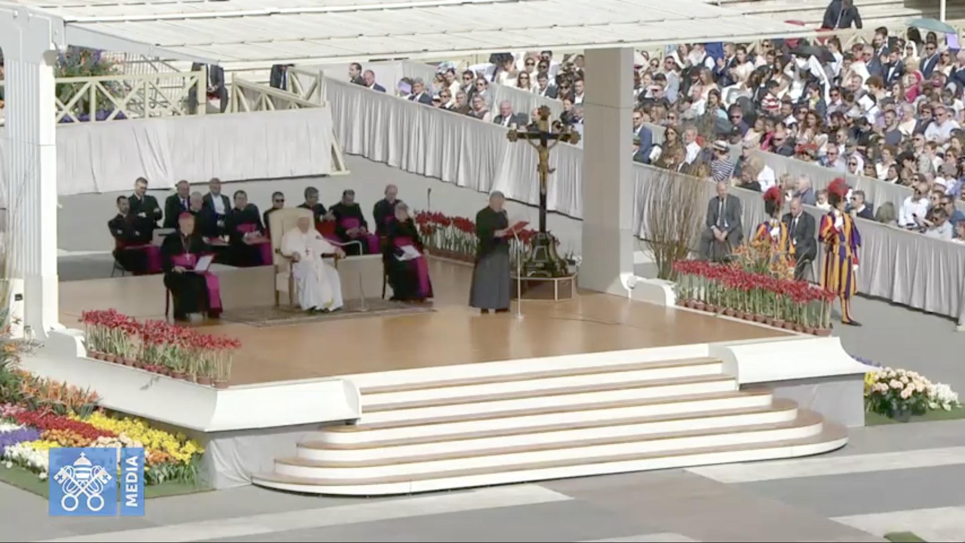 Audience du mercredi de Pâques, 24 avril 2019 @ Vatican Media