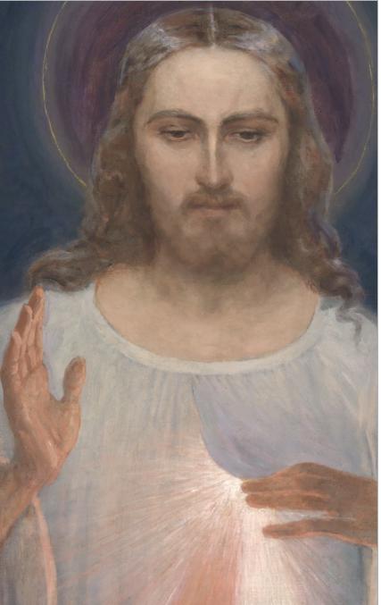 Le Christ miséricordieux de Vilnius, Lituanie @ gailestingumas.com