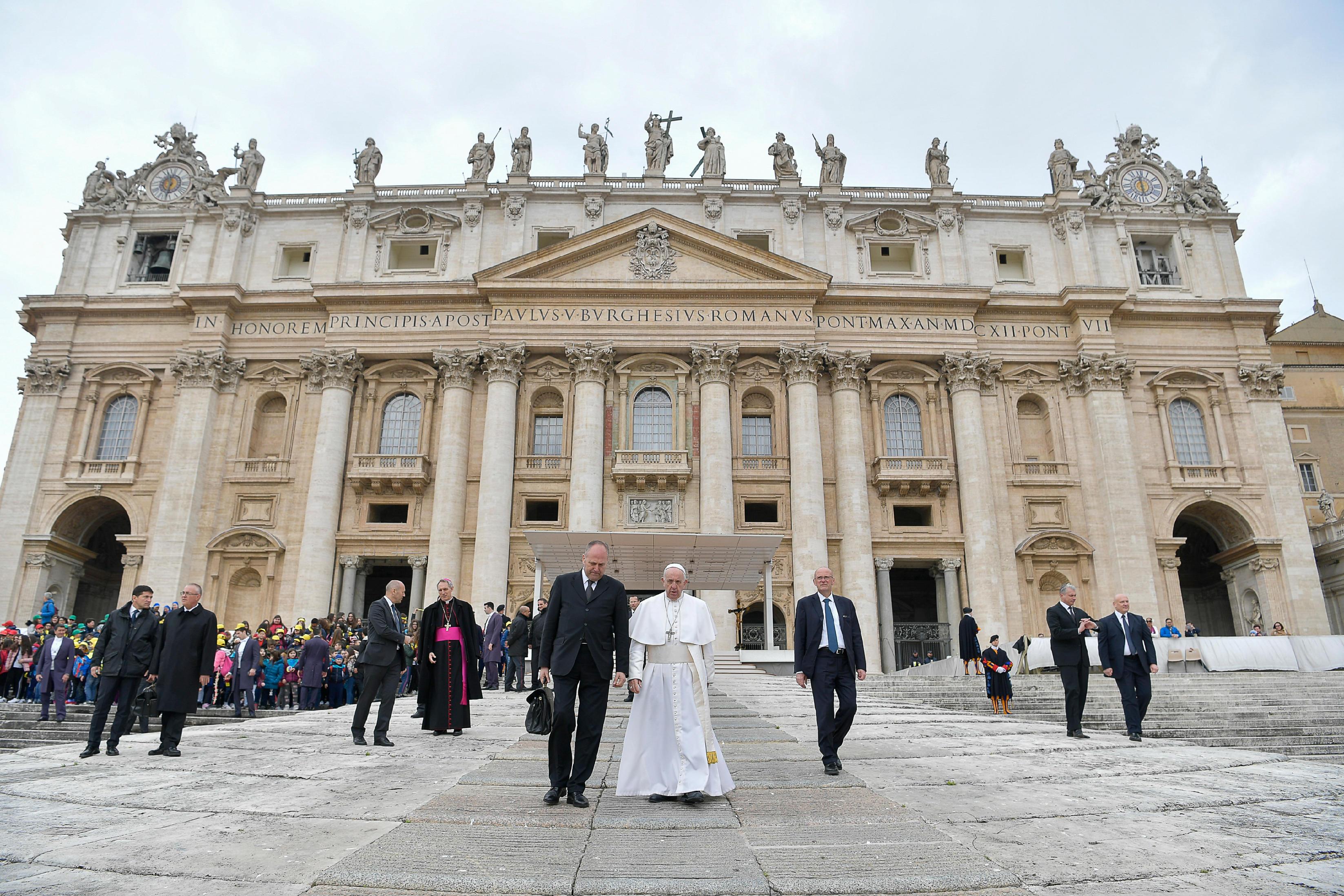 Audience générale du 3 avril 2019 © Vatican Media