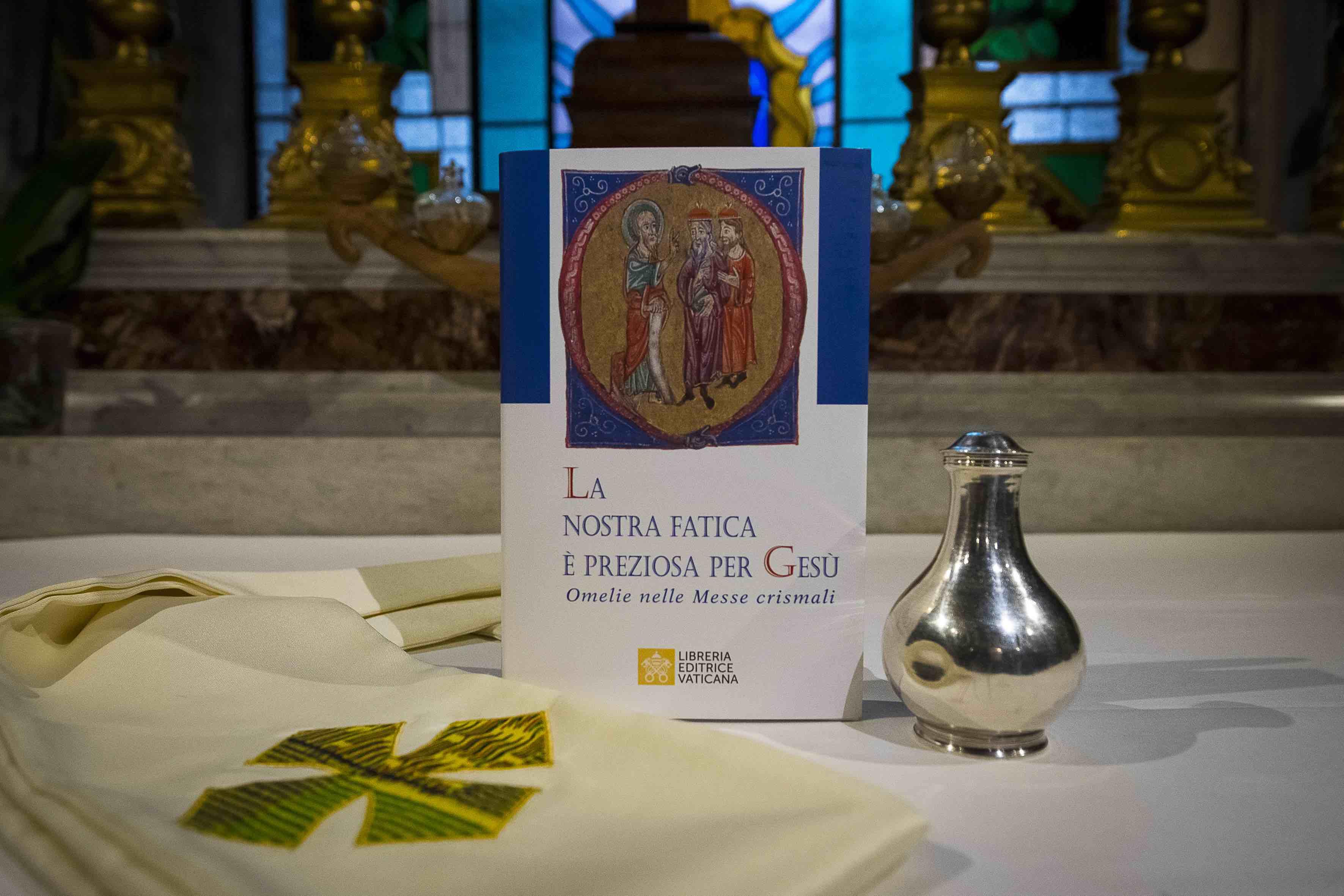 Cadeau du pape aux prêtres, Jeudi Saint 2019 © Librairie éditrice du Vatican