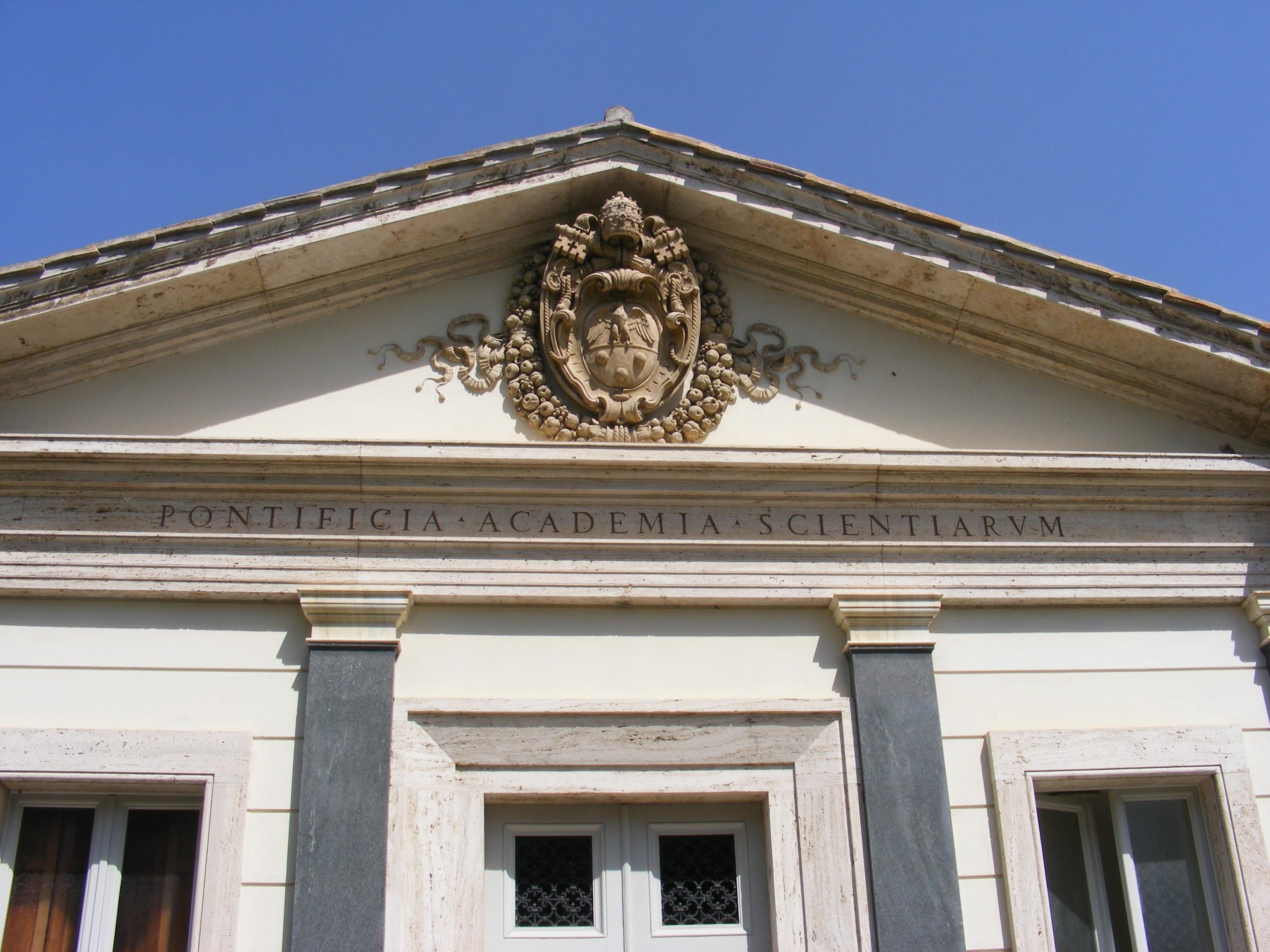 Académie pontificale des sciences @ Wikimedia commons / Mattes