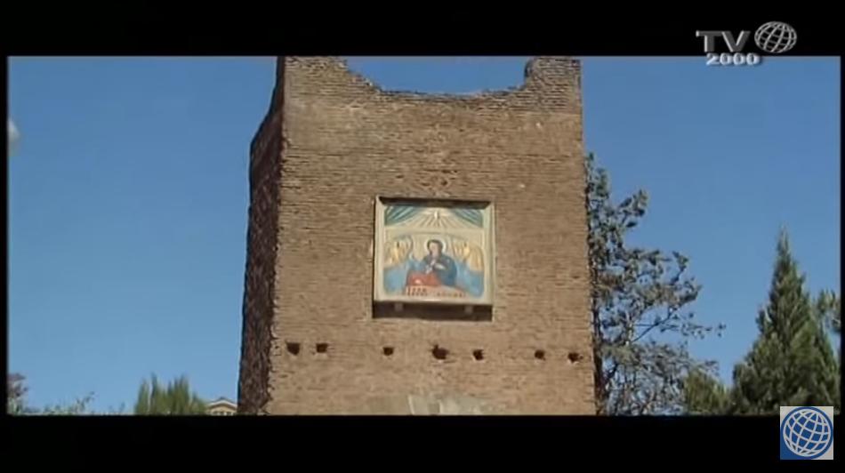 Sanctuaire du Divin Amour, Rome, capture TV2000