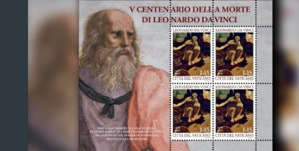 Timbres Léonard de Vinci © Vatican News